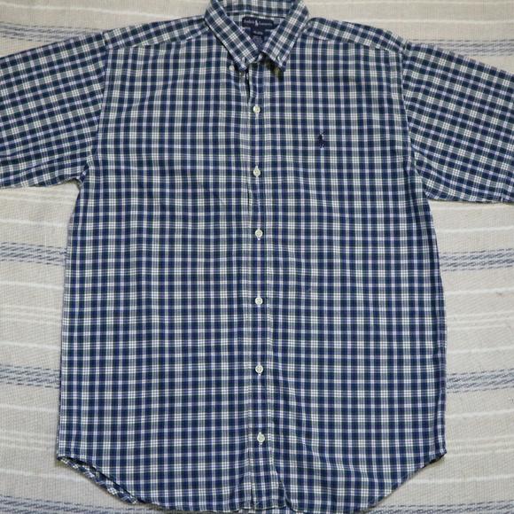 418cb689d Ralph Lauren Shirts & Tops   Vintage Boys Plaid Button Shirt   Poshmark
